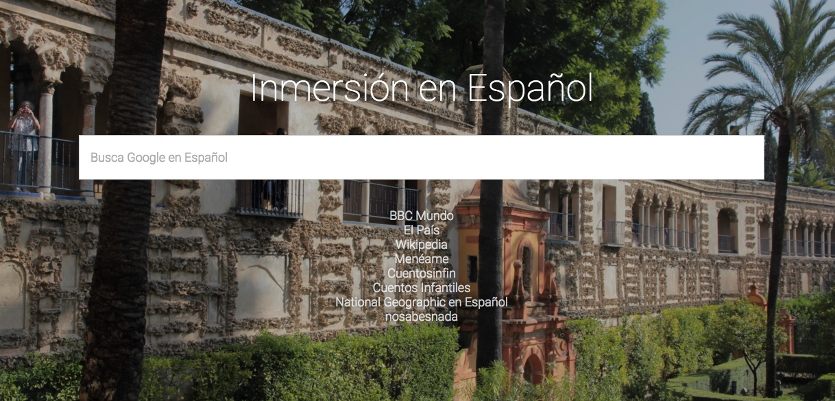 Spanish Immersion Homepage